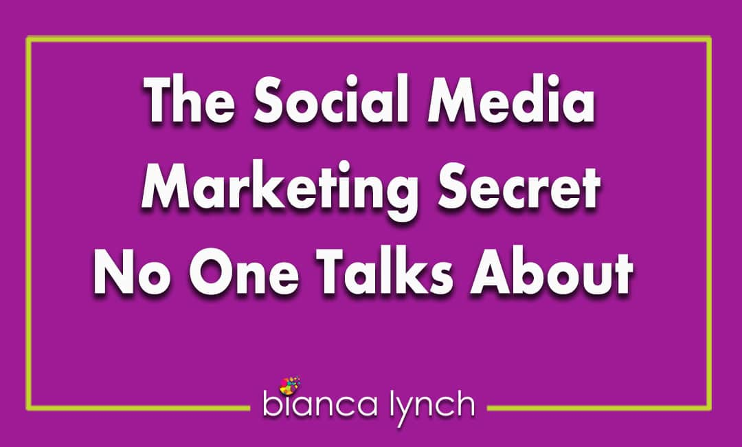 The Social Media Marketing Secret No One Talks About