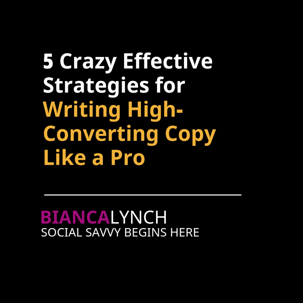 copywriting for small business