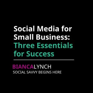 social media for small business marketing