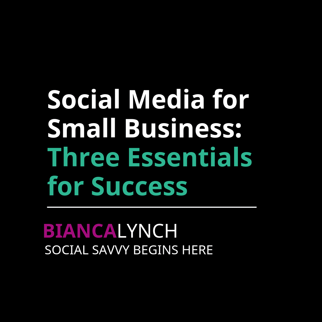 social media for small business marketing
