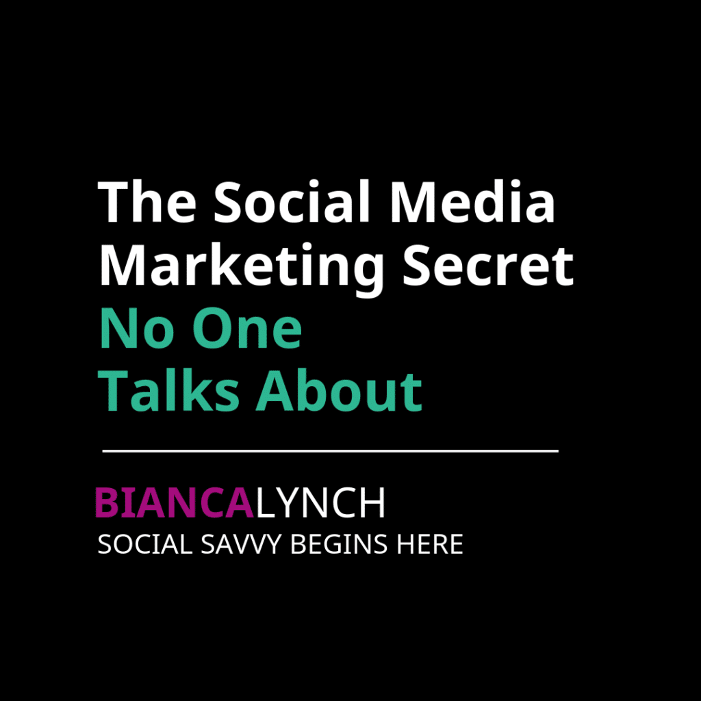 The Social Media Secret No One Talks ABout
